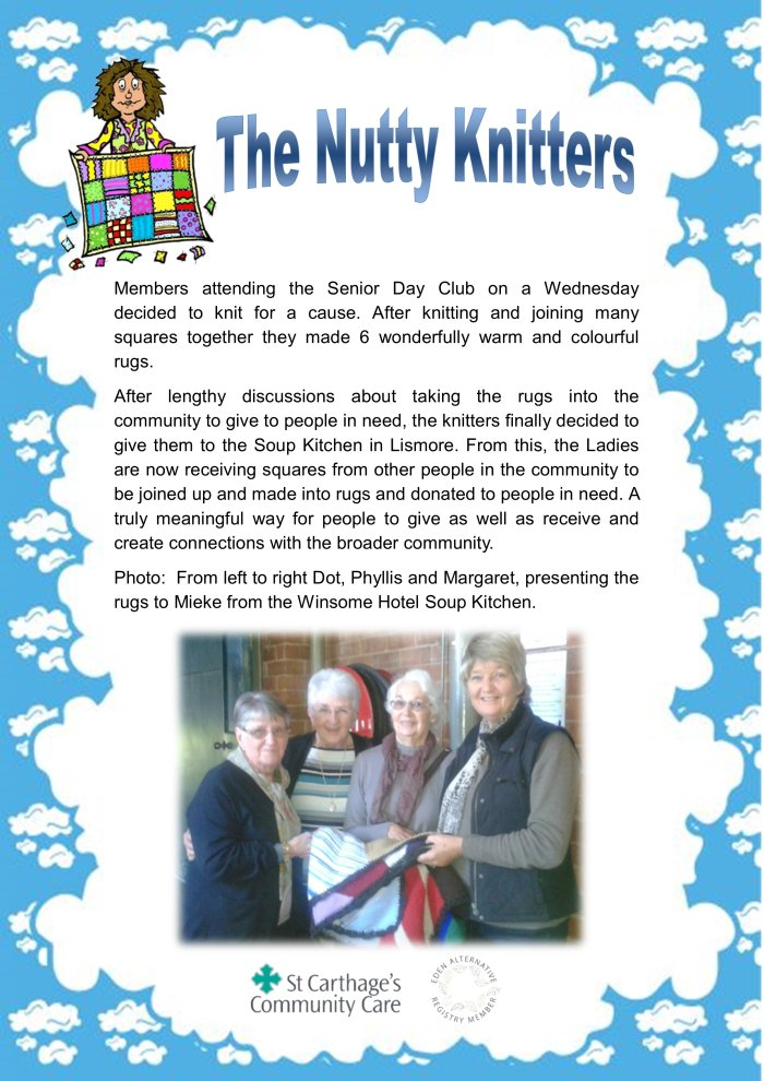 18 The Nutty Knitters by Joan Raison